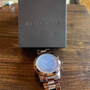 Michael Kors 8204 Chocolate Brown Watch
